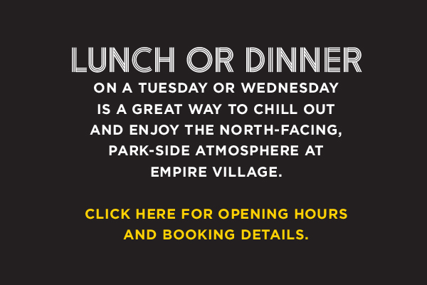 Put Mid-Week on the Menu<br>@ Empire Village